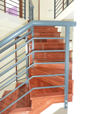Stairs by DIY Parquetry
