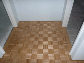 Parquetry flooring by DIY Parquetry
