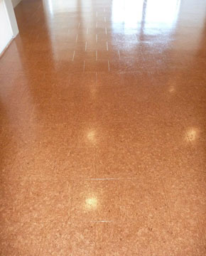 Cork Flooring by D.I.Y. Parquetry and Cork