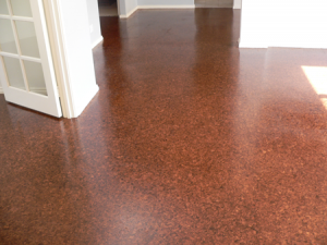 Gorgeous cork floor by D.I.Y Parquetry, Timber & Cork Flooring.