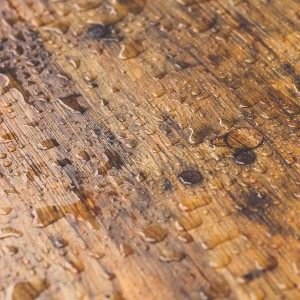 water-on-wood