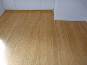 Bamboo flooring by DIY Parquetry