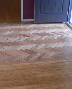 Bamboo parquetry by DIY Parquetry & Cork