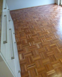 Mosaic parquetry