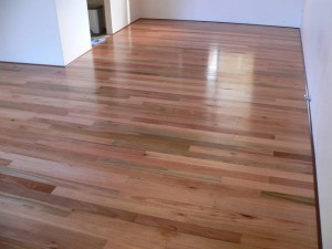 rose gum floor by DIY