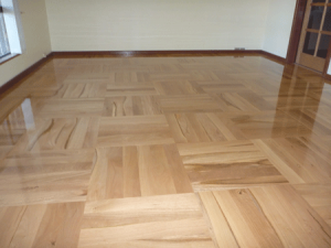 custom designed parquet floor