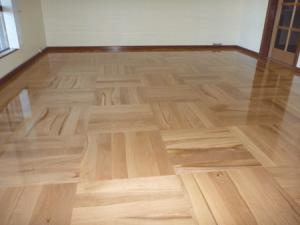 custom designed parquet floor